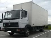 Грузоперевозки от 1 кг до 5 тонн из Краснодара