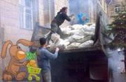 Услуги по вывозу мусора строительного