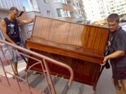 Перевозка пианино,  грузчики