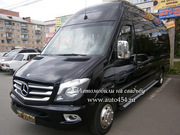 Аренда, Заказ, Прокат микроавтобуса с водителем. Mercedes Sprinter New